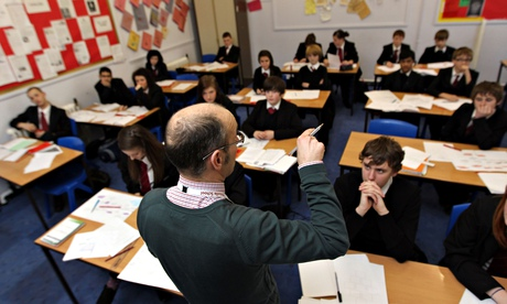 The latest study on teaching methods is likely to set off further debate. Photograph: David Davies/PA